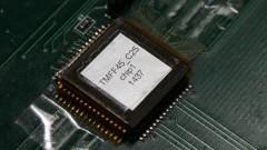 Detalhe do protótipo do Chip Sampa do Instituto de Física (IFUSP). Foto: Marcos Santos/USP Imagens