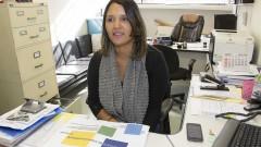 reg. 115-16 FE. Seminário de Internacionalização. Vanessa de Lima Carvalho Secretária do CCINT-FE. 06/05/2016 Foto: Marcos Santos/USP Imagens