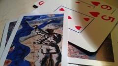 Jogo de Baralho - Cartas com temas de Cândido Portinari - Foto: Pedro Bolle / USP Imagens