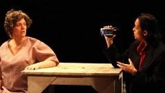 "Cena de ensaio da peça de teatro ""Fausto.Org"". Foto: Águeda Amaral"