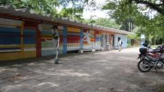 Entrada do Centro de Práticas Esportivas da USP (Cepeusp) - Foto: Pedro Bolle / USP Imagens