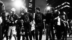 Jovens manifestantes no cruzamento da Av. Faria Lima com Av Rebouças. George Campos / USP Imagens