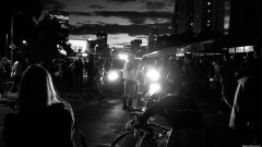 CET Interdita Av Rebouças para passagem dos manifestantes. George Campos / USP Imagens