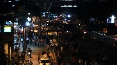 Início da caminhada pela Avenida Rebouças. George Campos / USP Imagens
