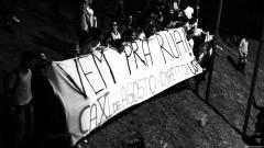 """Cartaz """"Vem pra rua"""" CA XV de Agosto - Direito da USP. George Campos / USP Imagens"""
