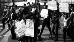 Manifestantes em caminhada pela Marginal Pinheiros. George Campos / USP Imagens