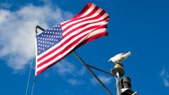 Bandeira Americana em Balsa  - Nova York, Estados Unidos – George Campos / USP Imagens