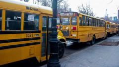 Ônibus Escolares - Nova York, Estados Unidos – George Campos / USP Imagens
