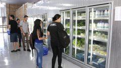Novo prédio da Seção de vendas da   Faculdade de Zootecnia e Engenharia de Alimentos (FZEA). Foto: Marcos Santos/USP Imagens