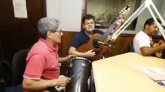 Izael e Dedé Paraizo. Show 40 anos da Rádio USP. 2017/10/11 Foto: Marcos Santos/USP Imagens