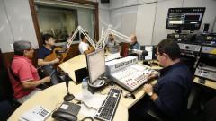 Izael, Dedé Paraizo, Ricardinho, Sérgio Rosa. Demônios da Garoa. Show 40 anos da Rádio USP. 2017/10/11 Foto: Marcos Santos/USP Imagens