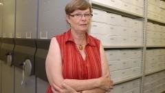 Joahanna Wilhelmina Smit, diretora técnica do Serviço de Arquivos da USP (SAUSP). Foto: Cecília Bastos/Jornal da USP