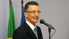 José Otávio Costa Auler Junior, na inauguração do Bloco Didático da FOFITO FMUSP. Foto: Francisco Emolo/Jornal da USP
