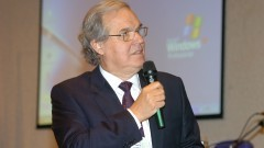 José Roberto Postali Parra no encontro sobre Agroenergia na USP. Foto: Cecília Bastos/Jornal da USP