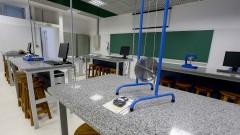 EEL - Escola de Engenharia de Lorena. Campus I. Laboratório de Física Experimental I. 2017/05/09 Foto: Marcos Santos/USP Imagens