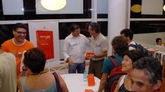 """Lançamento do livro """"História do PT"""" de Lincoln Secco. Foto: Francisco Emolo/Jornal da USP"""