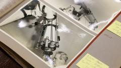 IAG. 21ª Semana de Arte e Cultura. Professor Eder Cassola Molina mostra fotos antigas do acervo do IAG.  2016/09/15 Foto: Marcos Santos/USP Imagens