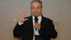 Luis Augusto Barbosa Cortez, no encontro sobre Agroenergia na USP. Foto: Cecília Bastos/Jornal da USP