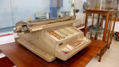 Máquina de Contabilidade NCR fabricado em 1928. Museu de Computação Professor Odelar Leite Linhares. 2017/10/05 Foto Marcos Santos/USP Imagens