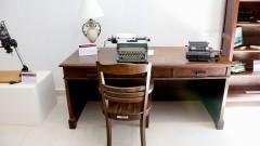 Máquina de escrever Remington de 1942. Museu de Computação Professor Odelar Leite Linhares. 2017/10/05 Foto Marcos Santos/USP Imagens