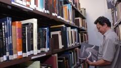 Biblioteca do MAE/USP. Foto: Francisco Emolo / Jornal da USP