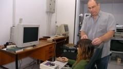 Marcus Vinícius Baldo e Eletroencefalógrafo – ICB