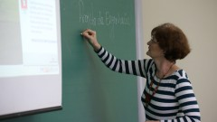 Professora da POLI Mércia Maria Semensato Bottura de Barros. foto Cecília Bastos/USP Imagem