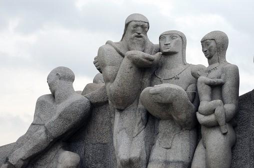 Monumento às Bandeiras de Victor Brecheret. Foto: Cecilia Bastos/Jornal da USP.
