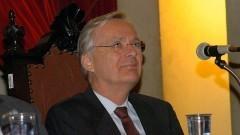 Nicolau Reinhard, abertura do Ciclo de Conferências USP. Foto: Francisco Emolo/Jornal da USP.