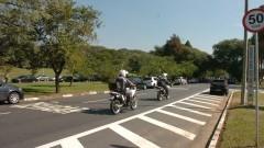 Ação da Polícia Militar na Cidade Universitária. Foto: Cecília Bastos / Jornal da USP