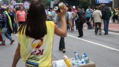 """Participante da 20ª da Parada do Orgulho LGBT de São Paulo com o tema """"Lei de identidade de gênero, já! - Todas as pessoas juntas contra a Transfobia!"""" 29.05.2016 foto: Cecília Bastos/Usp Imagens"""