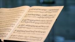 Detalhe de partitura. foto Cecília Bastos/Usp Imagens