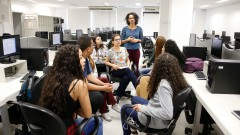 Patricia Santos. Laboratório de Jornalismo Científico. Faculdade de Medicina da Universidade (FMUSP). 2017/09/19 Foto: Marcos Santos/USP Imagens