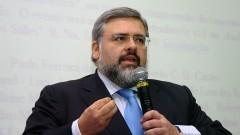 Palestra de Paulo Ferreira da Cunha no seminário Filosofia e Educação_ Universidade. Foto: Cecília Bastos/Jornal da USP