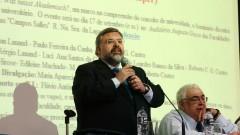 Paulo Ferreira da Cunha_ Jean Lauand no seminário Filosofia e Educação_ Universidade.