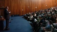 """Conferência """"A Information Economy Metalanguage"""" com o filósofo Pierre Lévy"""