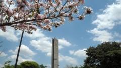 Imagens do Campus.Praça do relógio. Foto: Cecilia Bastos/Jornal da USP