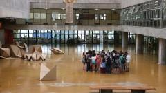 Faculdade de Arquitetura e Urbanismo. Fundada em 1948. Foto: Marcos Santos/USP Imagens