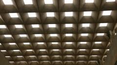 Vista interna do prédio da Faculdade de Arquitetura e Urbanismo - FAU. Foto: Marcos Santos/USP Imagens