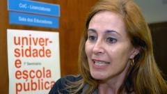 Roseli Aparecida da Silva  na VIII Semana de Educação - Universidade e Escola Pública. 267-11 Foto: Cecília Bastos/Jornal da USP