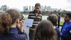 Rafael Cabral Alves de Rezende. SGA - Superintendência de Gestão Ambiental. Semana do Meio Ambiente. 2017/06/09 Foto: marcos Santos/USP Imagens