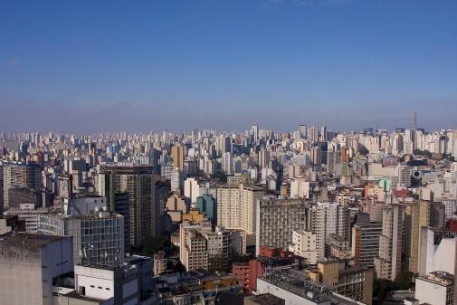 São Paulo vista de cima