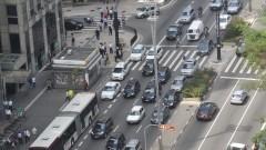 Vista do alto da Av. Paulista da cidade de São Paulo, um dos cartões postais da cidade. Foto: Cecília Bastos/Jornal da USP