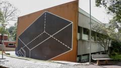 Reg. 388-17 Teorema da Gaveta de Regina Silveira. ICMC. Instituto de Ciências Matemáticas e de Computação. Vista do Campus I de São Carlos. 2017/10/05 Foto: Marcos Santos/USP Imagens