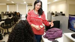 Veronica Coelho. Laboratório de Jornalismo Científico. Faculdade de Medicina da Universidade (FMUSP). 2017/09/19 Foto: Marcos Santos/USP Imagens