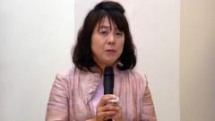 Yoko Sugawara no 1º Workshop Internacional de Cuidados Paliativos no HU. Crédito: Francisco Emolo/Jornal da USP