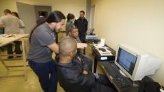 Laboratório de Sustentabilidade em TIC (Tecnologia da Informação e Comunicação). Foto: Marcos Santos/USP Imagens