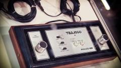 TeleJogo, tipo de vídeo game antigo, lançado nos anos 70 no Brasil. Foto: George Campos / USP Imagens