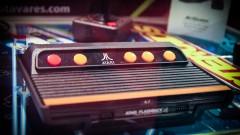 Atari, tipo de vídeo game antigo, lançado nos anos 80 no Brasil. Foto: George Campos / USP Imagens