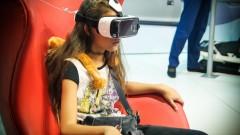 Óculos de realidade aumentada 3D, com base em celular. Foto: George Campos / USP Imagens